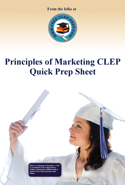 Principles of Marketing CLEP